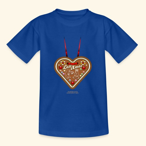 Ugly Christmas Design Last Xmas für Weihnachten - Teenager T-Shirt