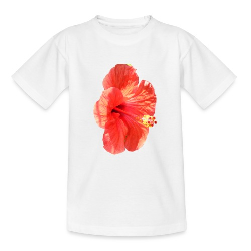 A red flower - Teenage T-Shirt