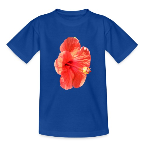 A red flower - Teenage T-Shirt