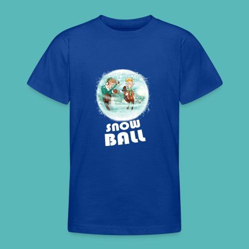 snow ball - Camiseta adolescente