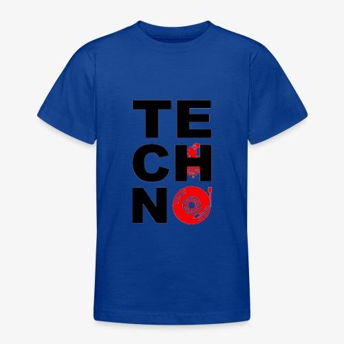 TECHNO VINILO - Camiseta adolescente