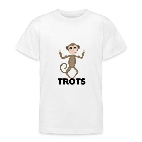apetrots aapje wat trots is - Teenager T-shirt