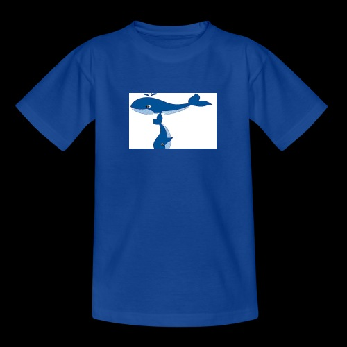 whale t - Teenage T-Shirt