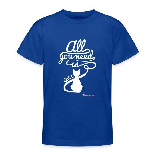 allyouneedblanco-png - Camiseta adolescente