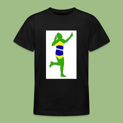 Neymár Brazil - T-shirt tonåring