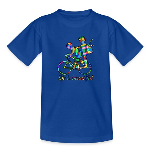 Life is beautiful - Teenager T-Shirt