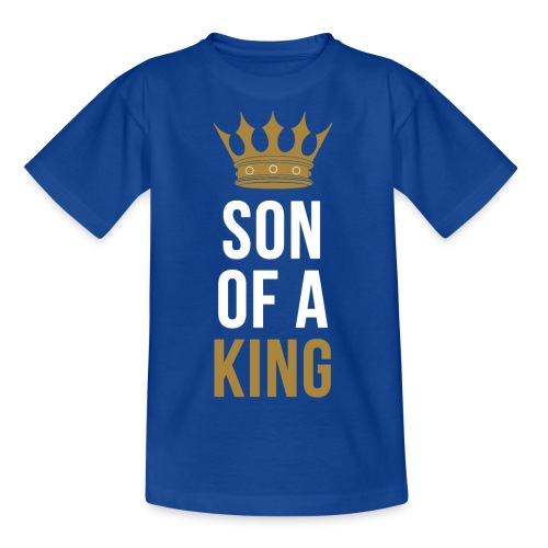 Son of a King Vater Sohn partnerlook - Teenager T-Shirt