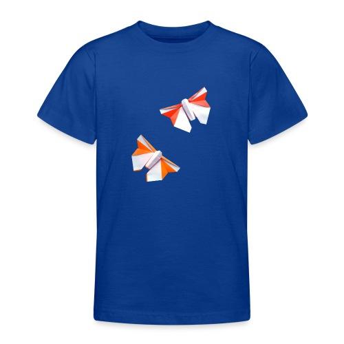 Butterflies Origami - Butterflies - Mariposas - Teenage T-Shirt
