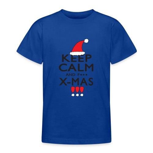 Keep calm XMAS - Teenager T-Shirt