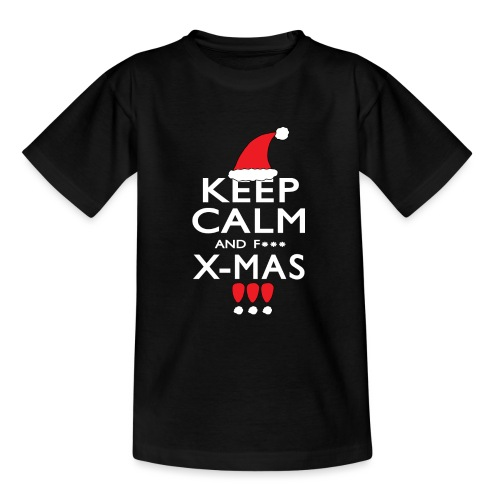 Keep calm XMAS - Teenager T-Shirt