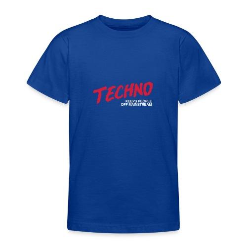 Techno music - Teenage T-Shirt