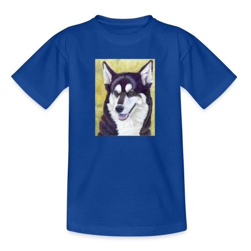 Siberian husky - Teenager-T-shirt