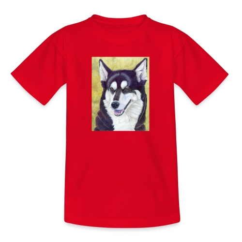 Siberian husky - Teenager-T-shirt