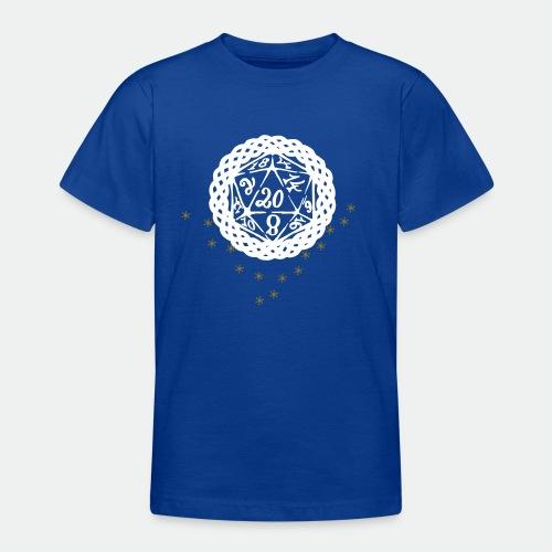 Snowflake Starglitter - Teenage T-Shirt