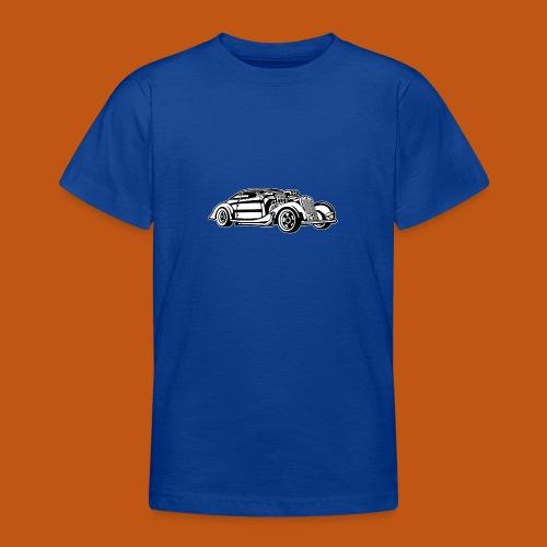 Hot Rod / Rad Rod 05_schwarz weiß - Teenager T-Shirt