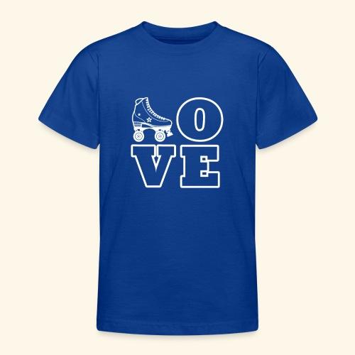 Love Skating - Teenager T-Shirt