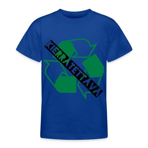 kierrätettävä - Nuorten t-paita