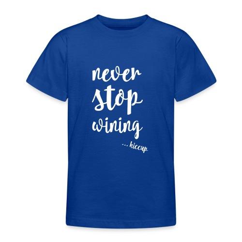 WINING - Teenager T-shirt