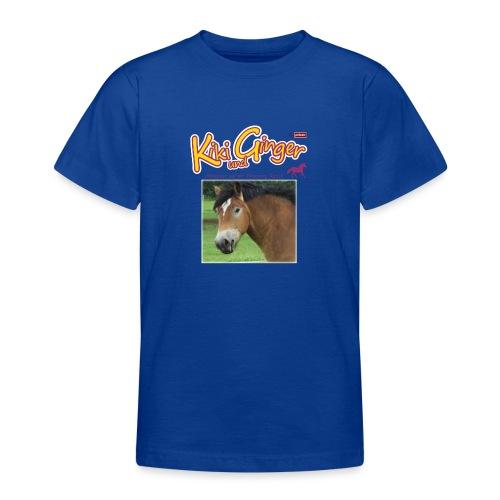 patame Kiki und Ginger mit Golden Sky weiss - Teenager T-Shirt