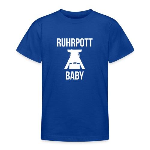 RUHRPOTT BABY - Deine Ruhrpott Stadt - Teenager T-Shirt