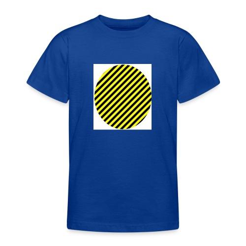 varninggulsvart - T-shirt tonåring