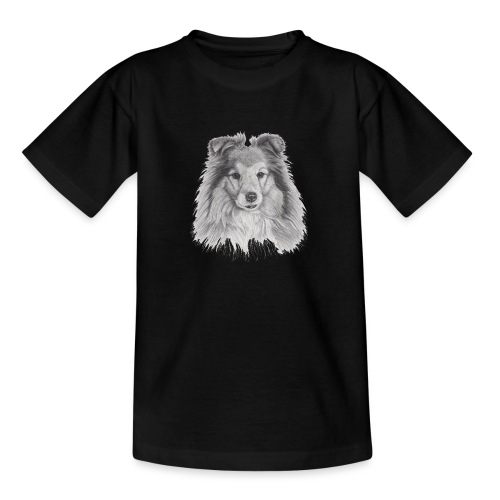 shetland sheepdog sheltie - Teenager-T-shirt