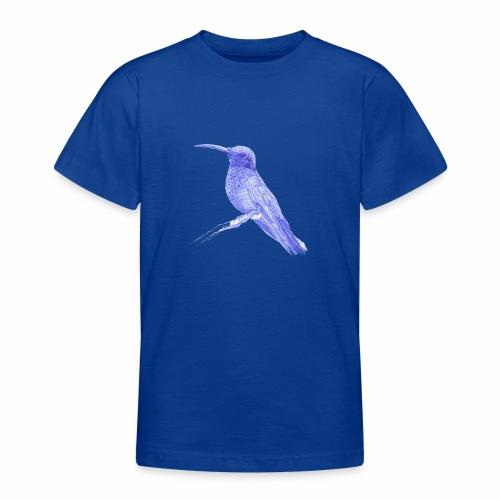 Hummingbird with ballpoint pen - Teenage T-Shirt