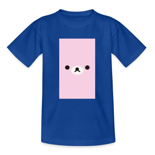 Cute Pink Bear Merch - Teenage T-Shirt