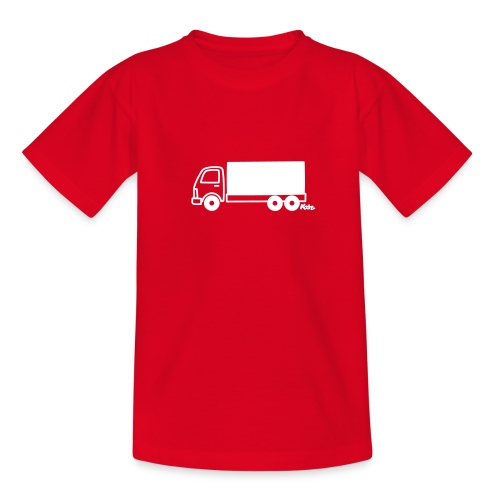 LKW lang - Teenager T-Shirt