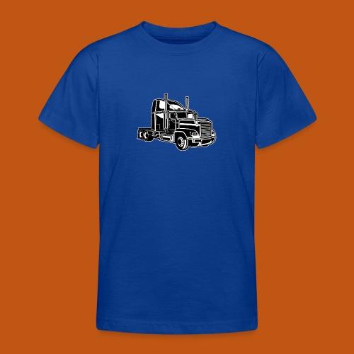 Truck / Lkw 02_schwarz weiß - Teenager T-Shirt