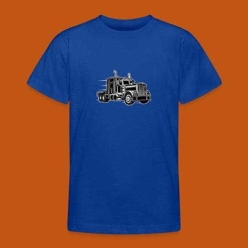 Truck / Lkw 03_schwarz weiß - Teenager T-Shirt