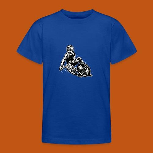 BMX / Mountain Biker 03_schwarz weiß - Teenager T-Shirt