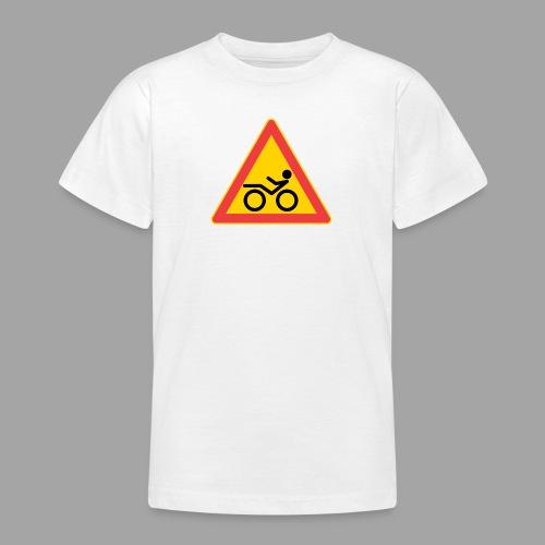 Traffic sign Recumbent - Nuorten t-paita