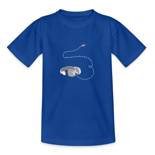 Tee shirt manches longues casque soundtrack - T-shirt Ado