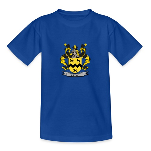Carrick Family Crest - Teenage T-Shirt