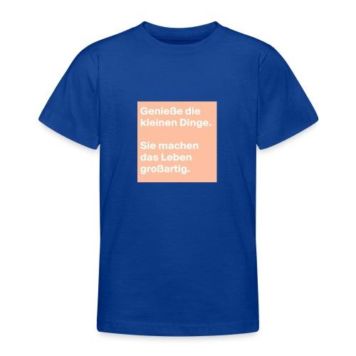 Sprüchekleidung - Teenager T-Shirt