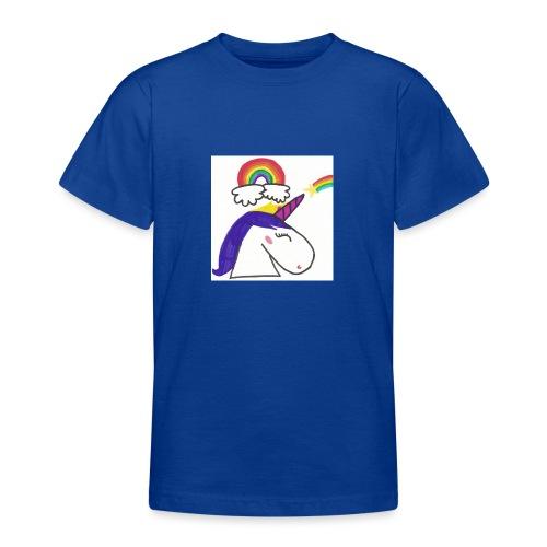 Unicorno arcobaleno - Maglietta per ragazzi
