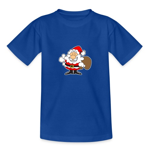 Santa_Cool01-png - Camiseta adolescente