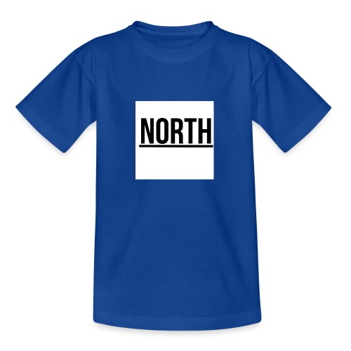 North T-Shirt VIT Man - T-shirt tonåring