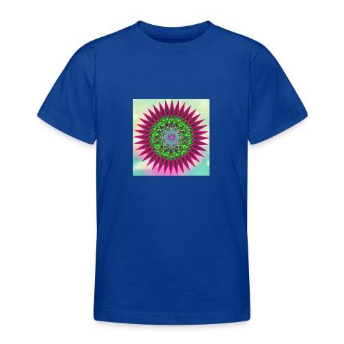 Mandala Flower - T-skjorte for tenåringer