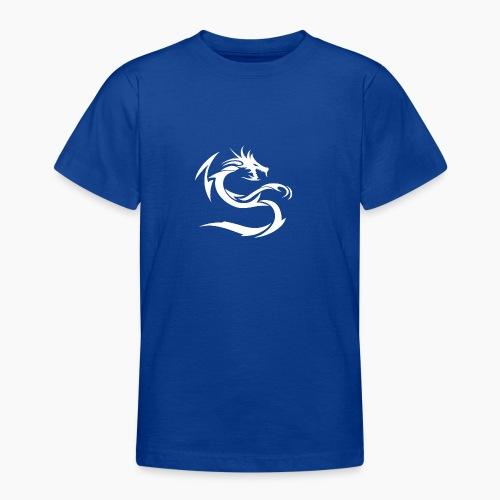 Snow White Dragon Sweatshirt - Teenage T-Shirt