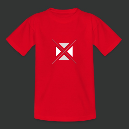 hipster triangles - Teenage T-Shirt