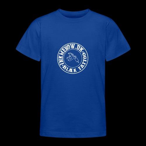 logo hvid png - Teenager-T-shirt