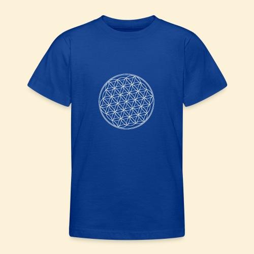 Lebensblume - Teenager T-Shirt