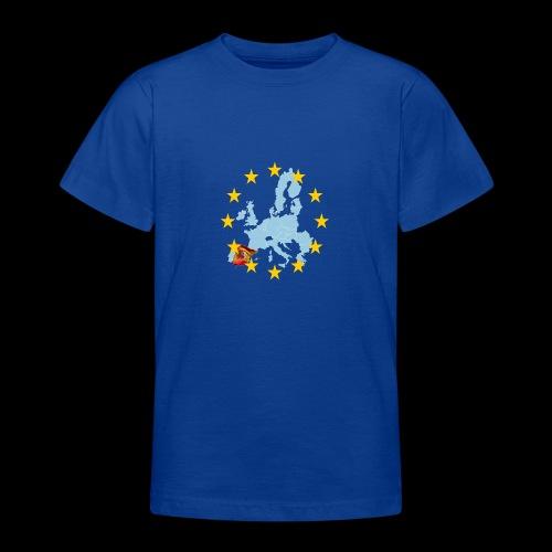 EU Spain (Europa Spanien) - Teenager T-Shirt