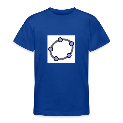 GeoGebra Ellipse - Teenage T-Shirt
