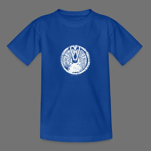 Maschinentelegraph (hvid oldstyle) - Teenager-T-shirt