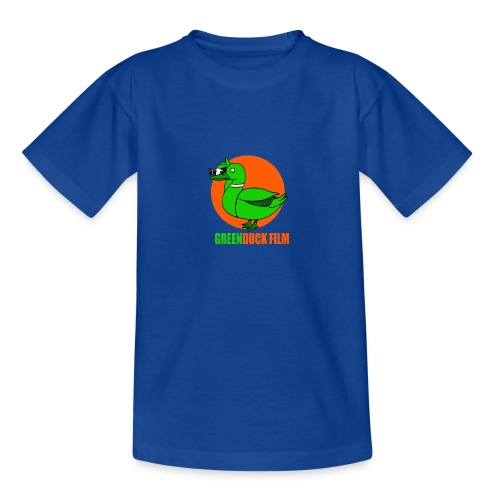 Greenduck Film Orange Sun Logo - Teenager-T-shirt