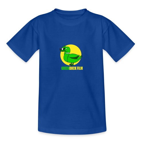 Greenduck Film In the Sun Logo - Teenager-T-shirt