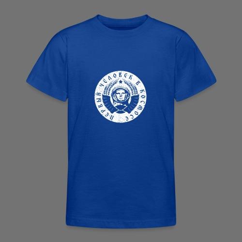 Cosmonaut 1c white (oldstyle) - Teenage T-Shirt